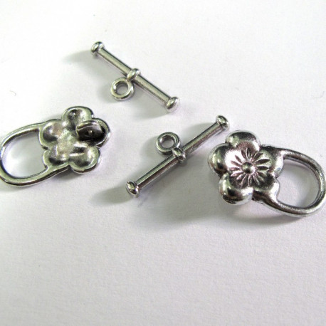 Flower toggle. Pack of 10