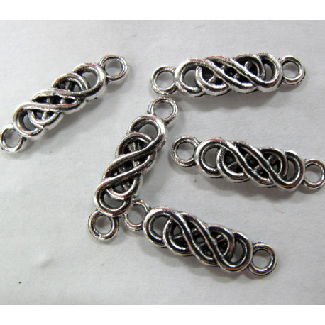 Celtic spacers. Pack of 10