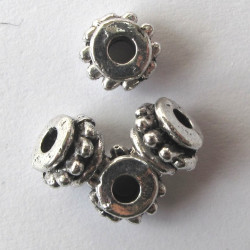 F4133s - Small barrel bead. Pack of 10