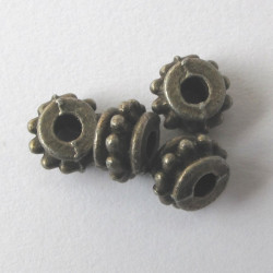 F4133g - Small barrel bead. Pack of 10