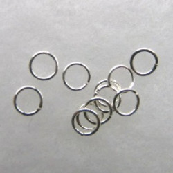 F4272S - 7 mm Jump Rings. Pack of 30