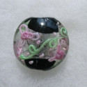 Black and Grey glass beads