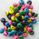 Mixed wooden beads